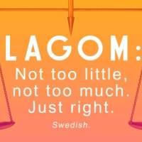 Życie w stylu Lagom